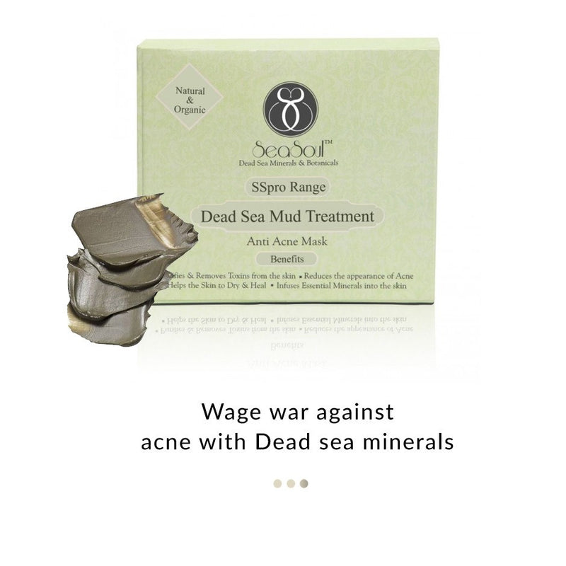 Dead Sea Mud Treatment - Anti Acne Mask on Smytten | Face Mask | SeaSoul