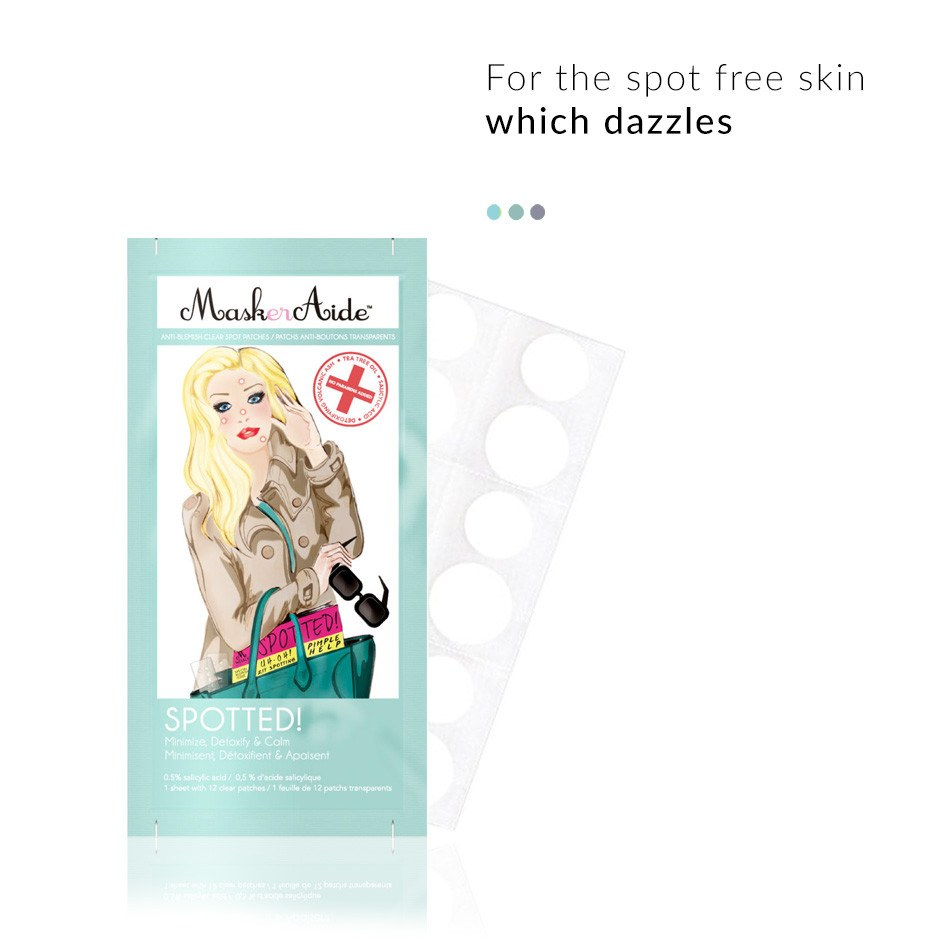 Face Mask - Spotted Anti-Blemish Clear Spot Patch Box