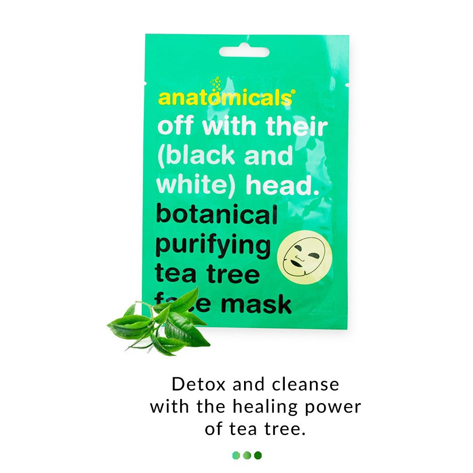 Tea Tree Botanical Cloth Face Mask on Smytten | Face Mask | Anatomicals