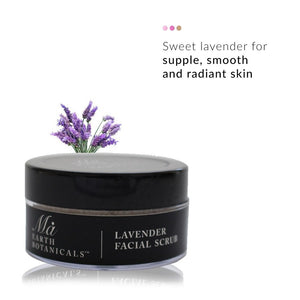 Lavender Facial Scrub | Ma Earth Botanicals | Shop on Smytten