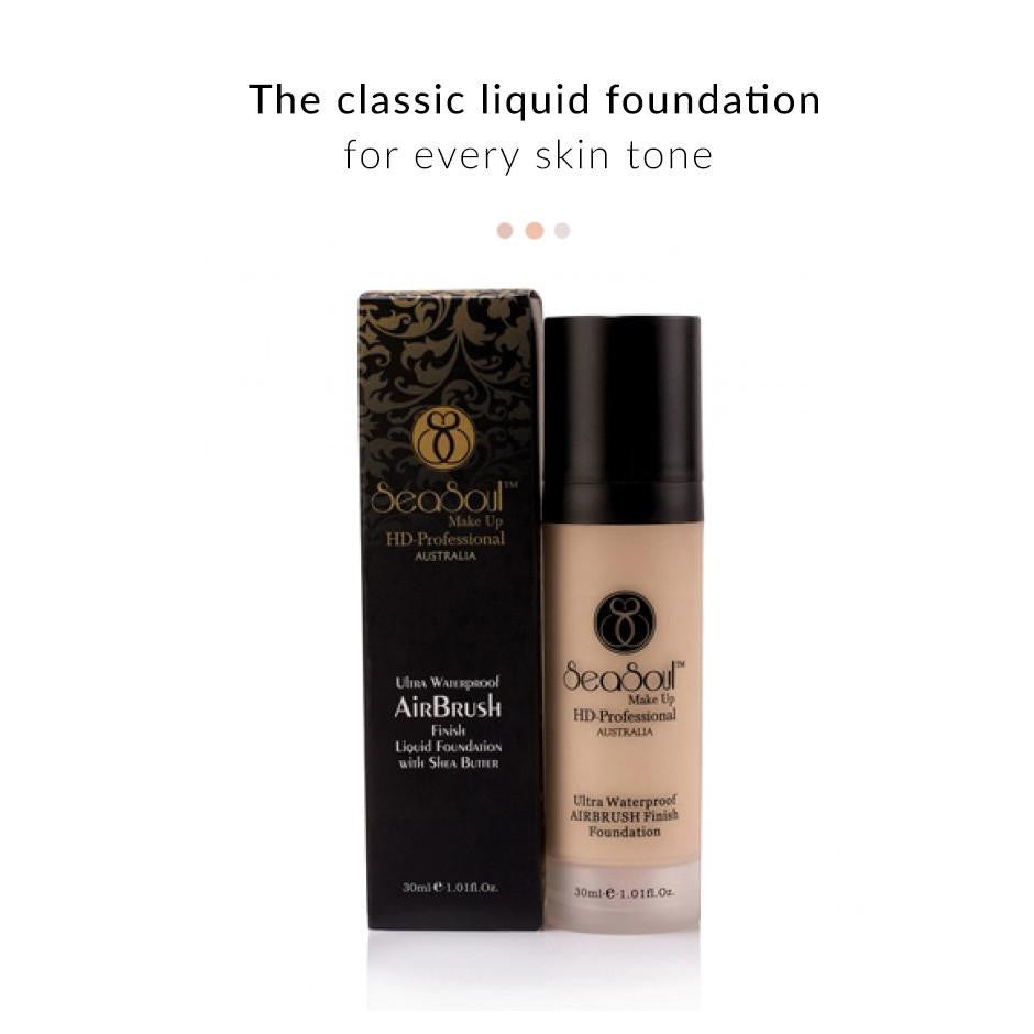 Face - Ultra Waterproof Airbrush Finish Liquid Foundation