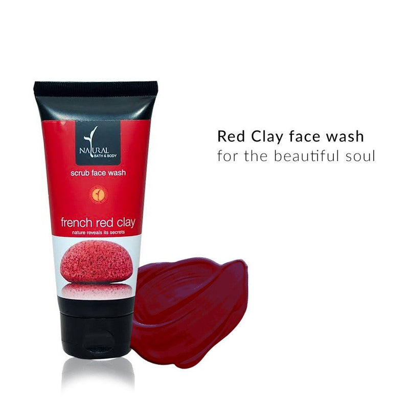 Face Wash - Red Clay Face Wash