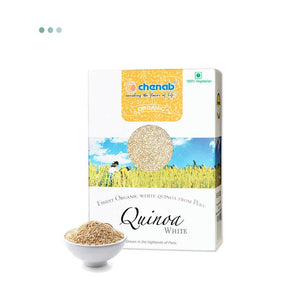 Food And Beverages - Chenab Organic White Quinoa