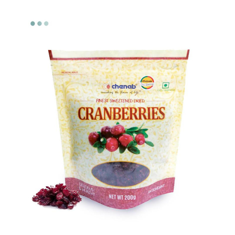 Food And Beverages - Finest Sweetened Dried Cranberries