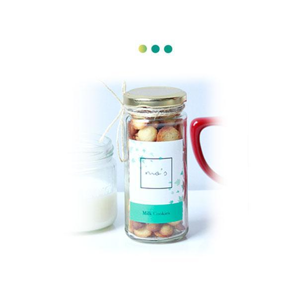 Food And Beverages - Milk Cookies Jar