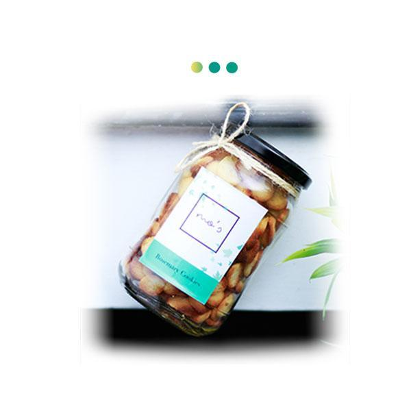 Food And Beverages - Rosemary Cookies Jar