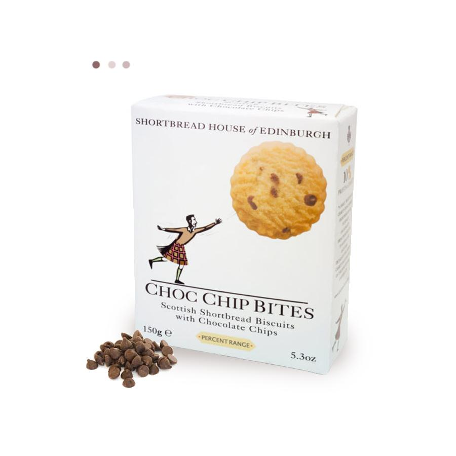 Food And Beverages - Shortbread Biscuits With Choc Chip Bites