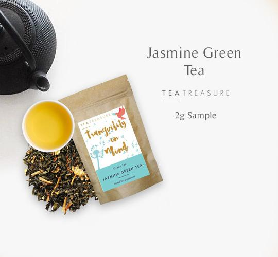 Food & Beverages - Jasmine Green Tea