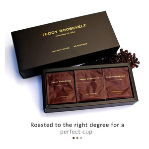 Luxury Instant Coffee | Teddy Roosevelt Luxury Coffee | Shop on Smytten