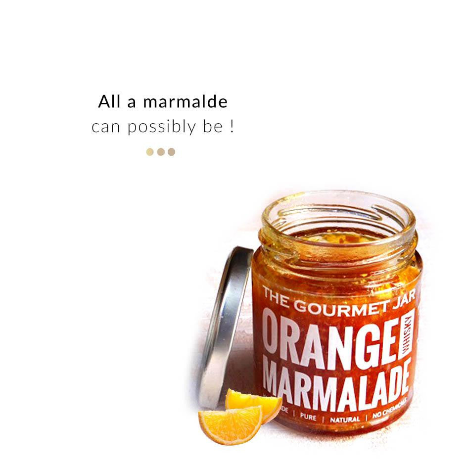 Food & Beverages - Orange Whiskey Marmalade