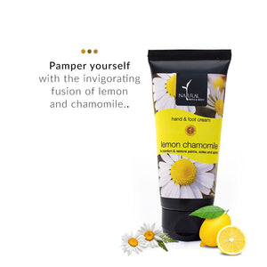 Foot And Hand Cream - Lemon Chamomile Foot And Hand Cream