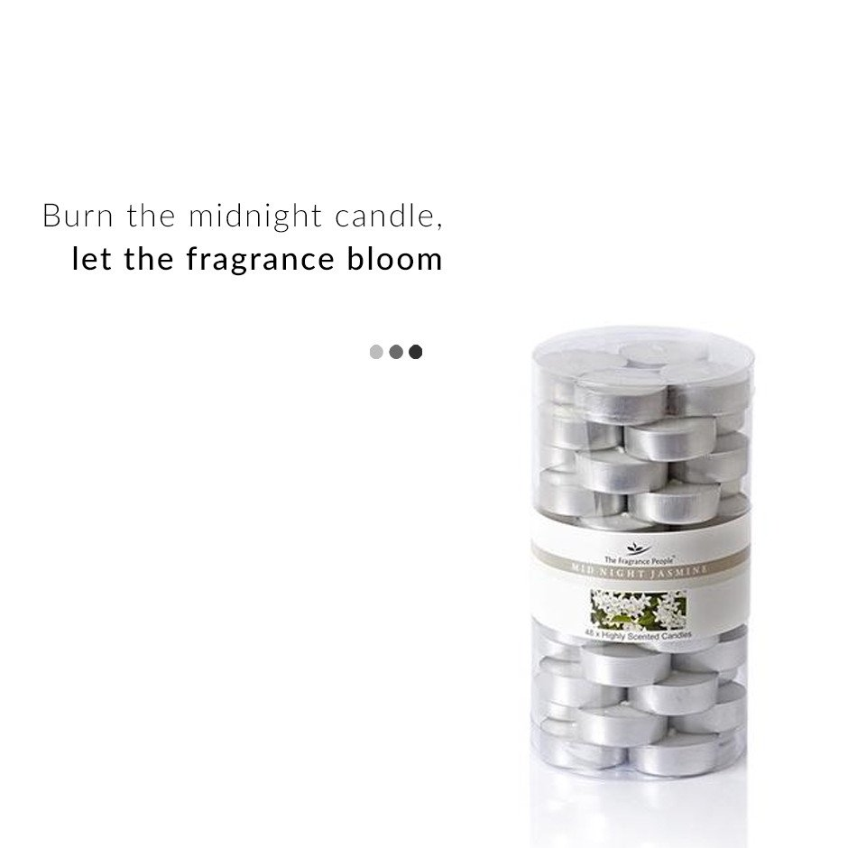 Fragrance - Midnight Jasmine Tealight Candles