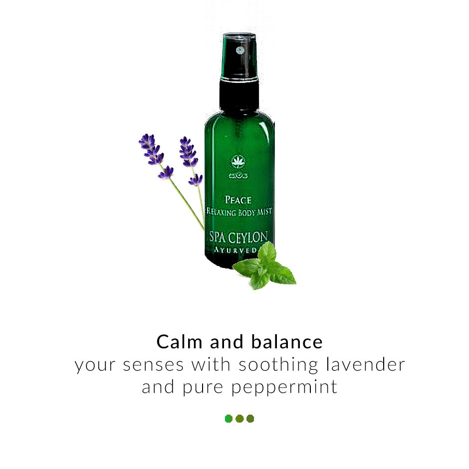 Fragrance - Peace- Relaxing Body Mist
