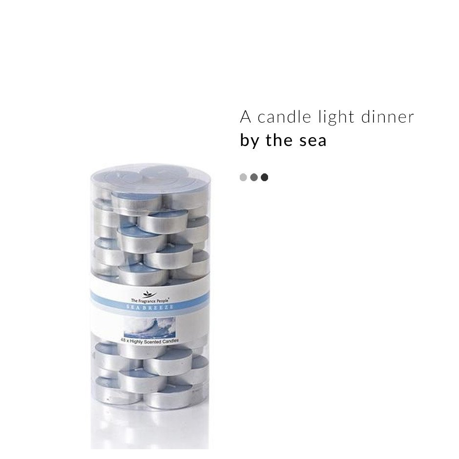 Fragrance - Sea Breeze Tealight Candles
