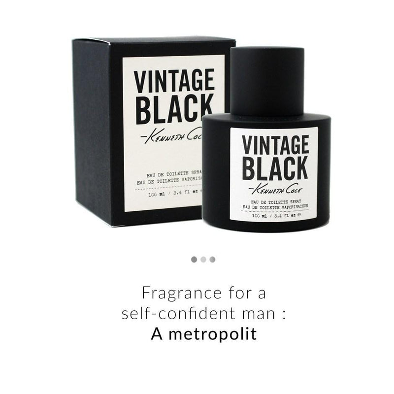 Fragrance - Vintage Black EDT (100ml)