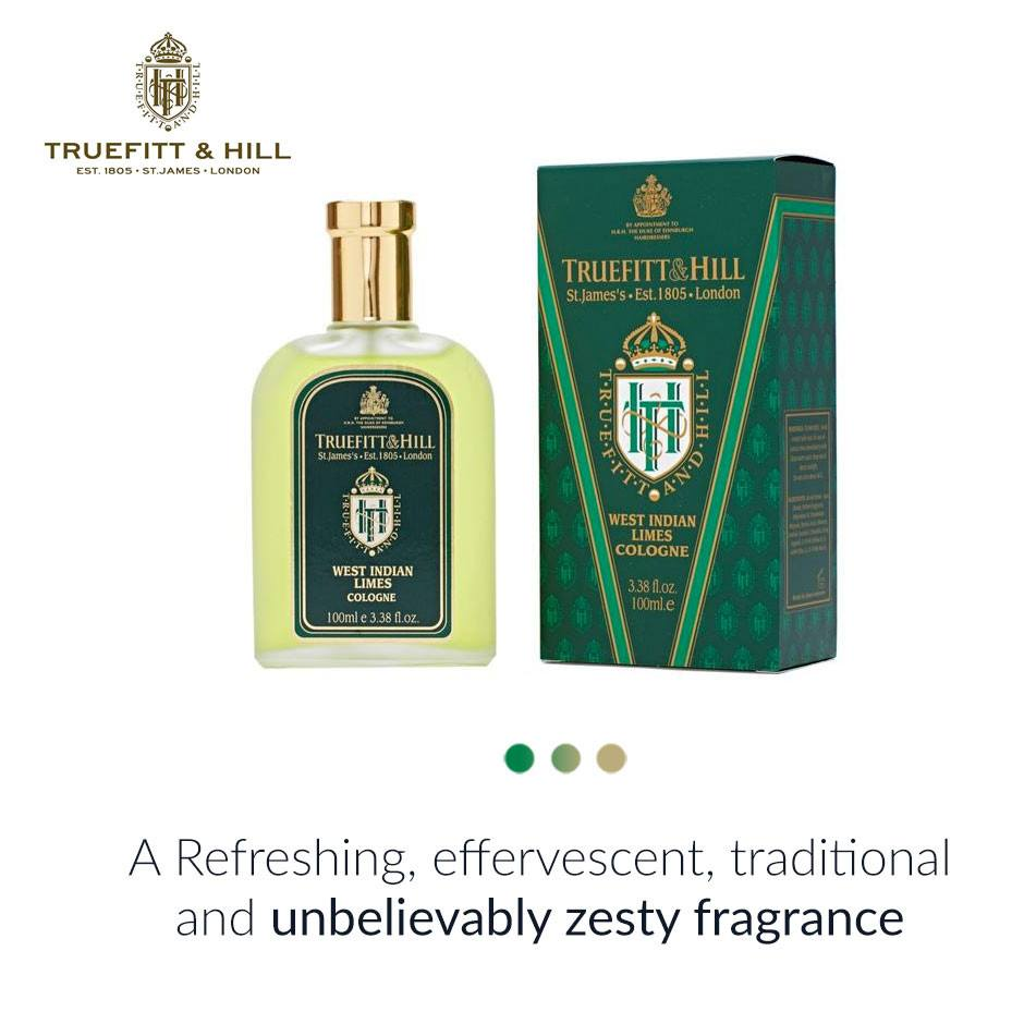 West Indian Limes Cologne from  Truefitt & Hill | Smytten