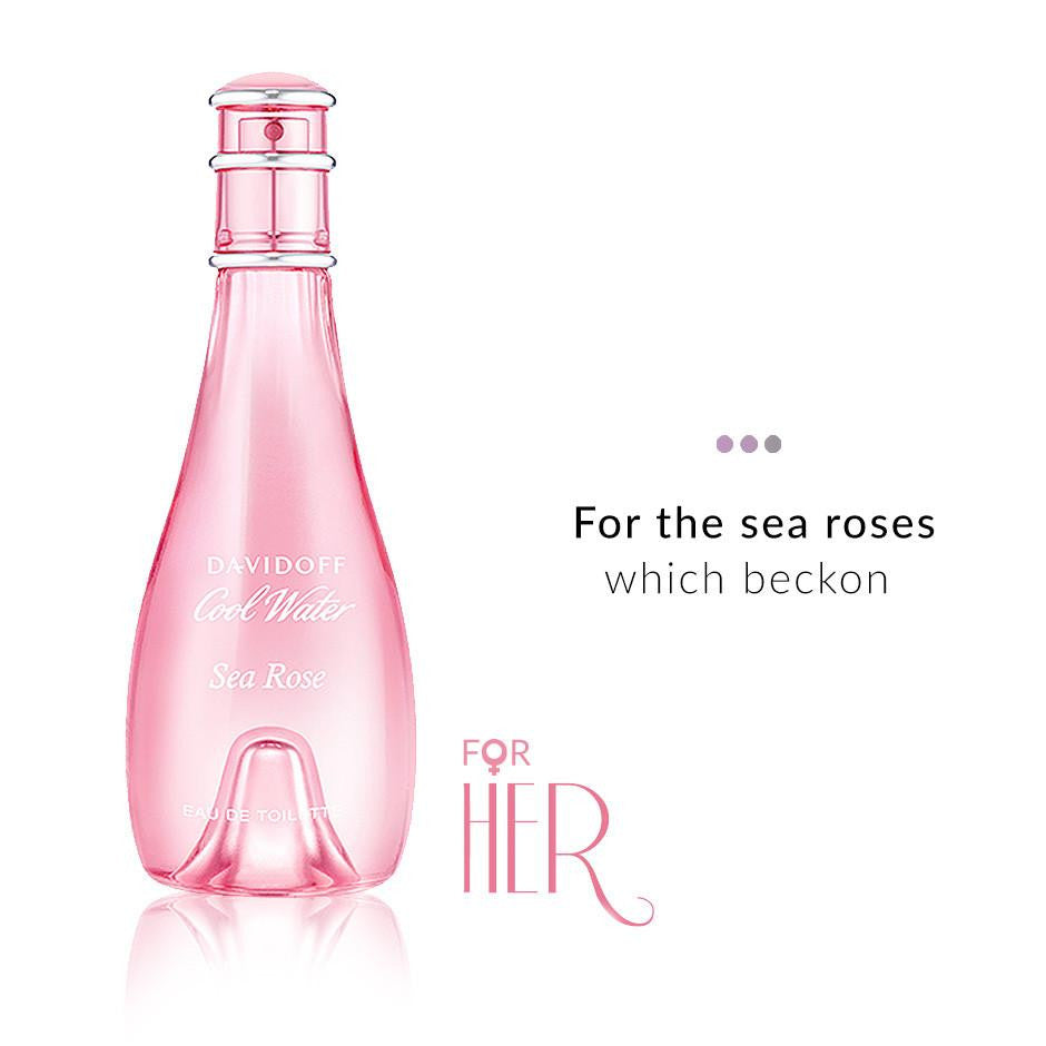 Fragrances - Cool Water Woman Sea Rose EDT