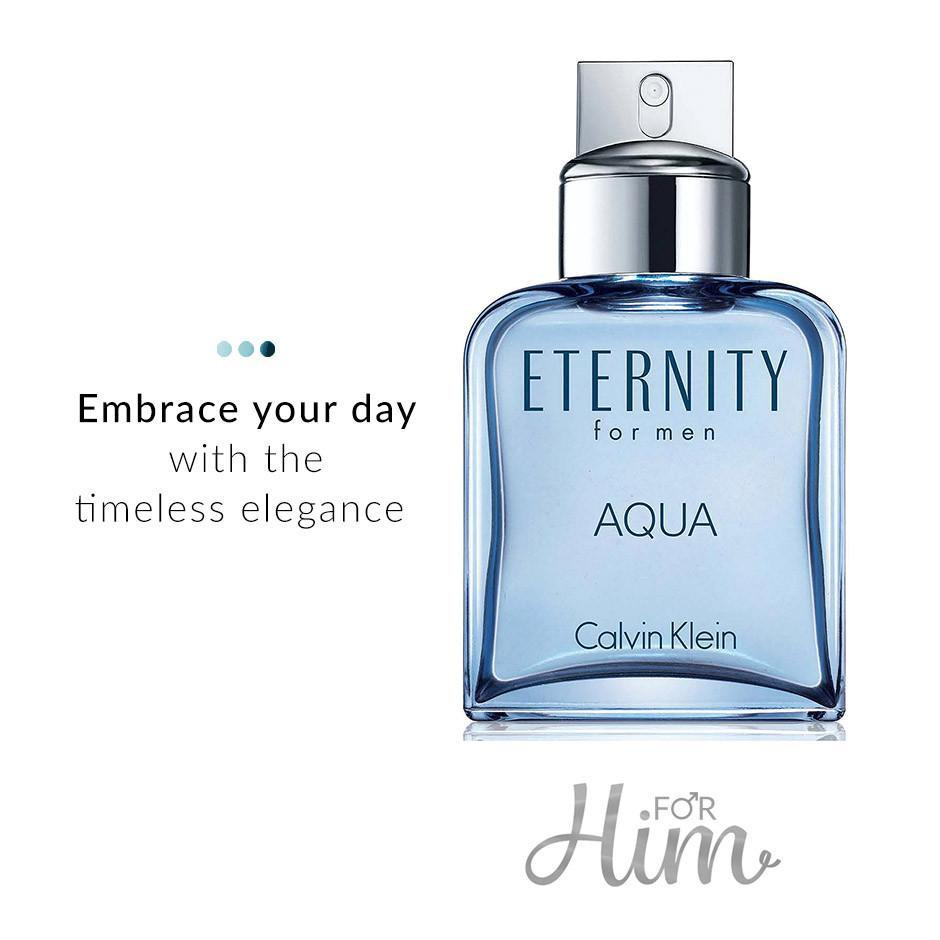 Fragrances - Eternity Aqua Men EDT (50ml)