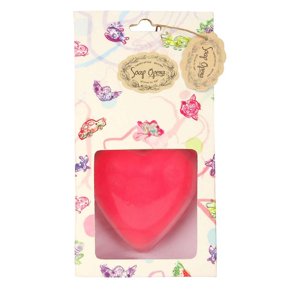 Free Plain Heart Designer Soap