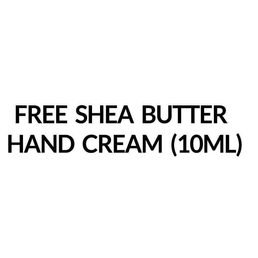 Free Shea Butter Hand Cream (10ml)