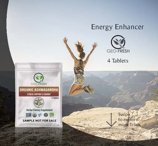 Energy Enhancer Organic Ashwagandha