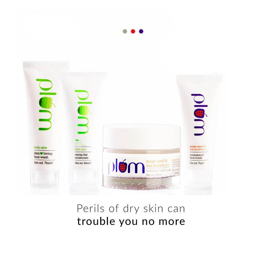 Gift Set - 4-in-1 Face Care Set For Dry Skin