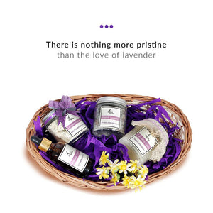 Gift Set - Lavender Love Basket