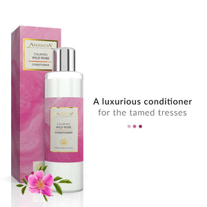 Calming Conditioner - Wild Rose | Ananda In The Himalayas | Shop on Smytten