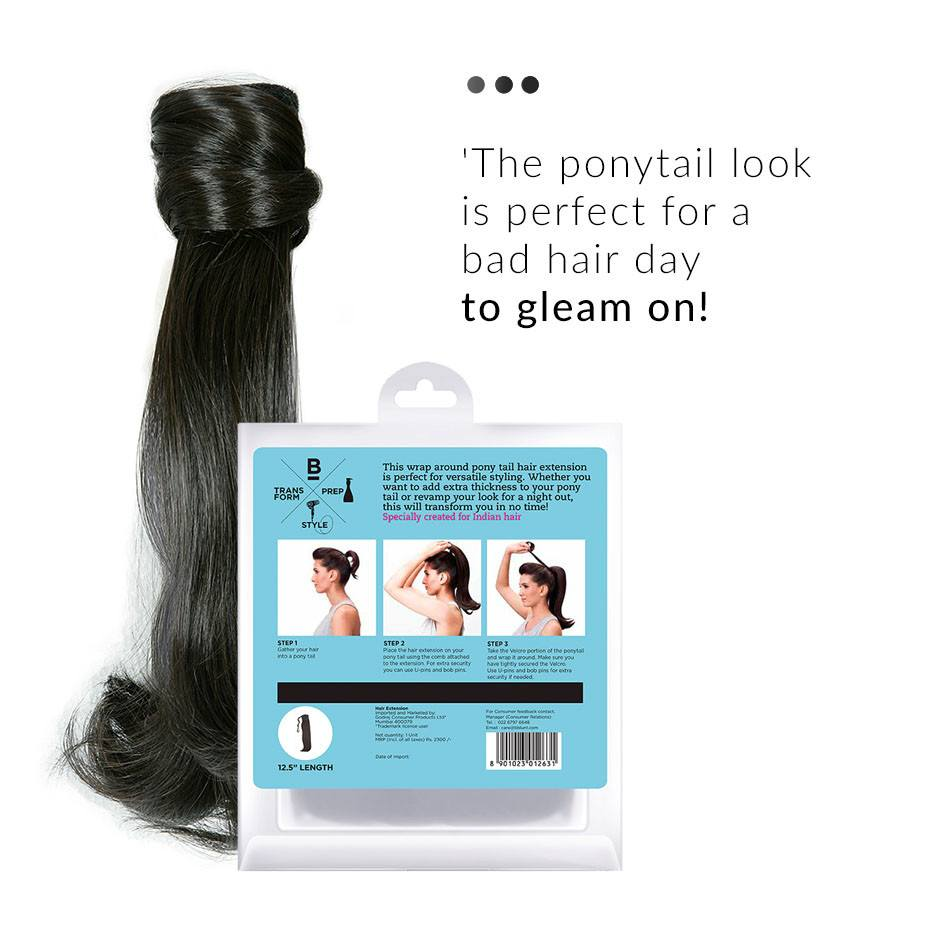 Hair Extension - Witched, Short Pony Tail Hair Extension