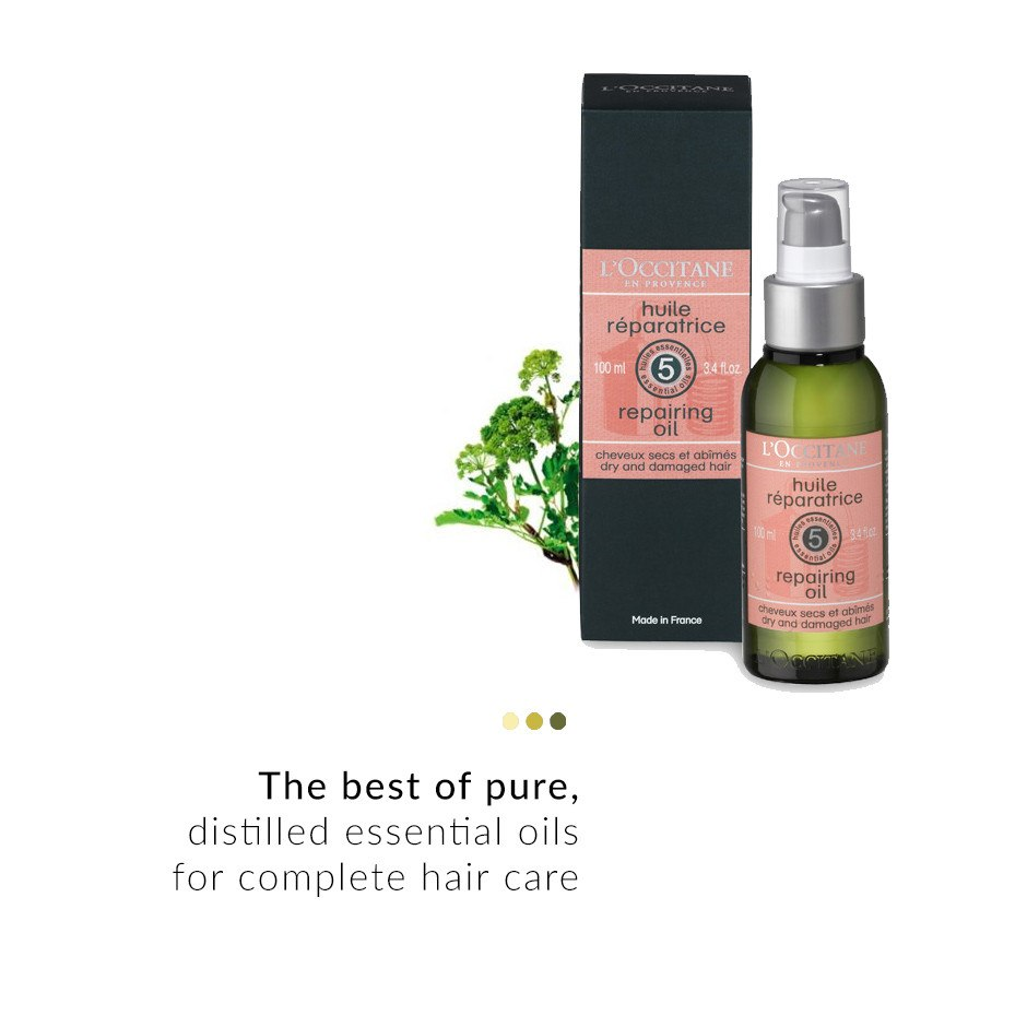 Hair Oil - AROMACHOLOGIE REPAIRING OIL
