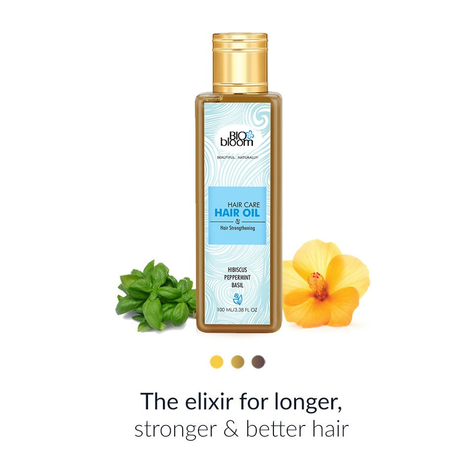 Hair Oil - Biobloom Hair Oil - Hair Strengthening
