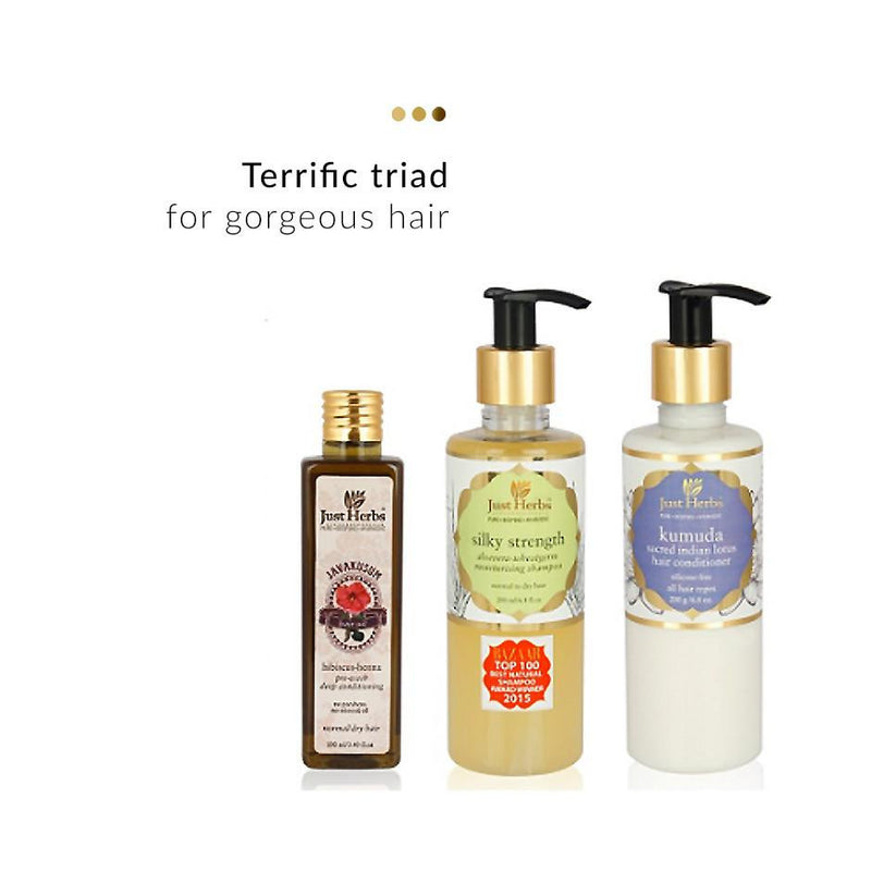 Haircare - Ayurvedic Haircare Trio (Normal/Dry Hair)