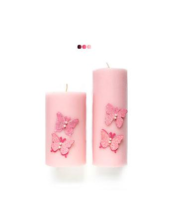 Home Fragrances And Decor - Butterfly Blush(Set Of 2)