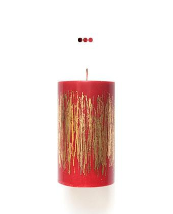 Home Fragrances And Decor - Golden Glitter Red