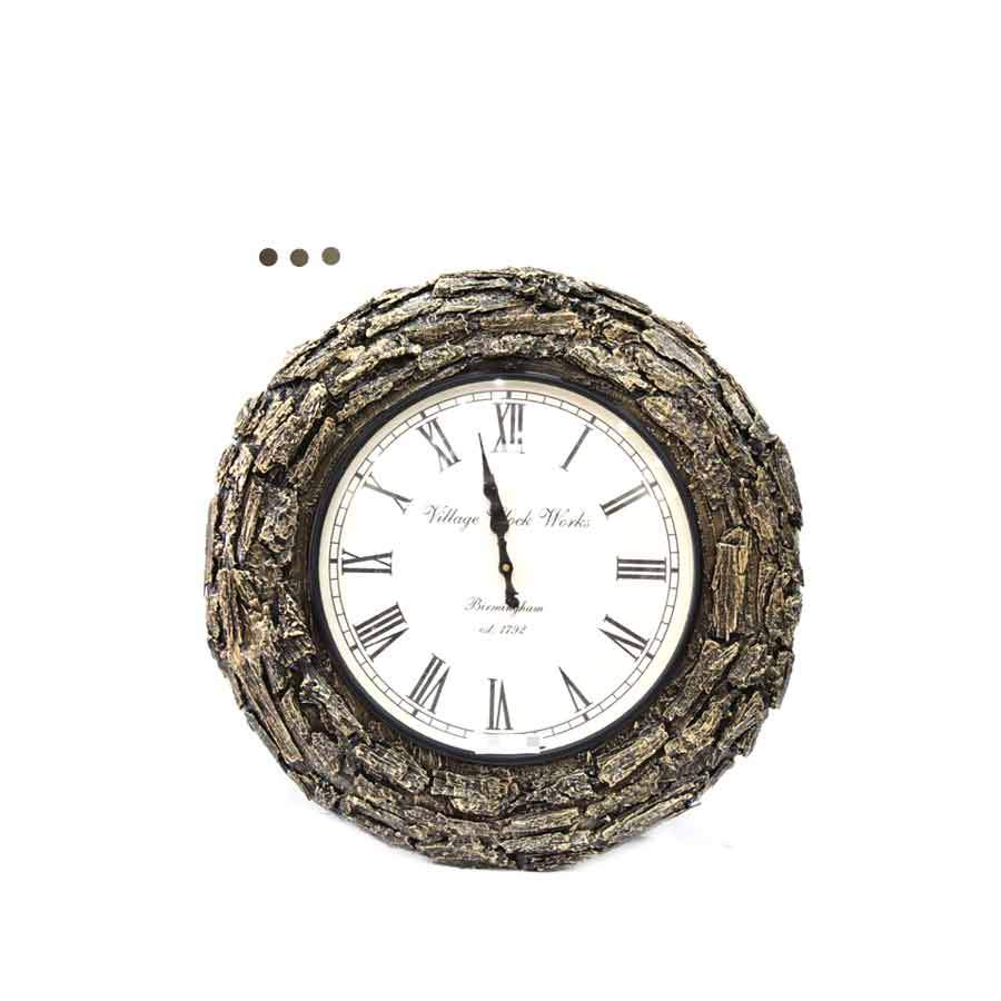 Home Fragrances And Decor - Neem Chaal Wall Clock 18""