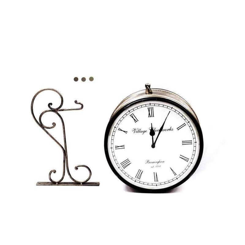 Home Fragrances And Decor - Station Clock 10""