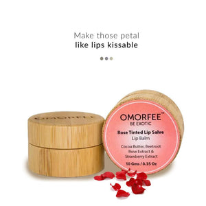 Rose Tinted Lip Salve| Omorfee | Shop on Smytten