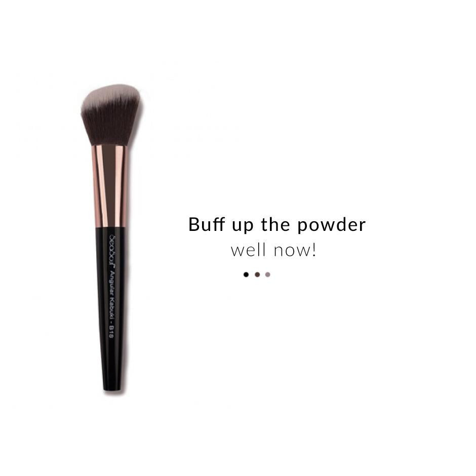 Make Up Brush - Angular Kabuki