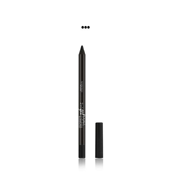 MakeUp - BLACK 2-IN-1 GEL KAJAL & EYELINER