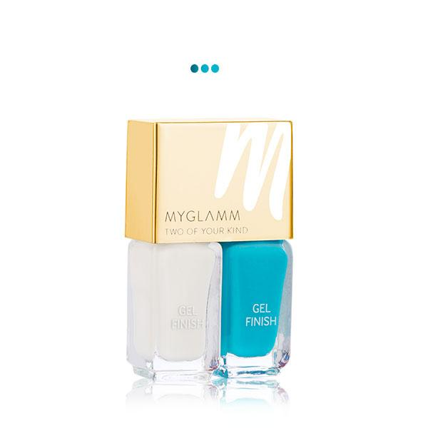 MakeUp - By The Sea   Gel Finish Nail Enamel Duo