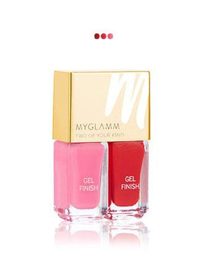 MakeUp - Cherry On Top   Gel Finish Nail Enamel Duo