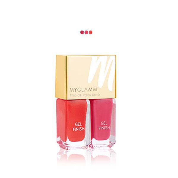 MakeUp - Classic Duet   Gel Finish Nail Enamel Duo