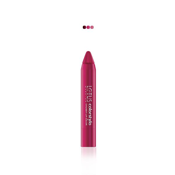 MakeUp - Make-Up Colorstylo Chubby Lip Color Scarlet Pink 201