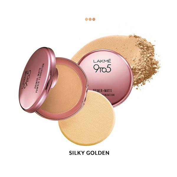 MakeUp - Primer + Matte Powder Foundation Compact - Silky Golden
