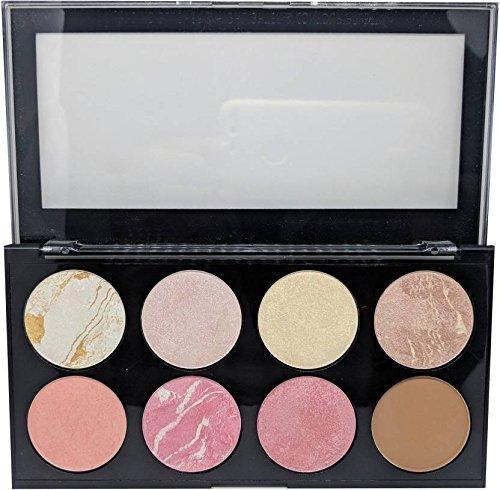 MakeUp - Pro Hd Blusher & Highlighter & Contour Palette