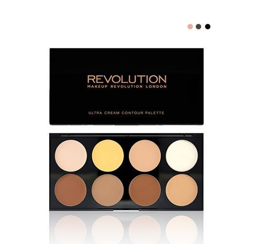 MakeUp - Ultra Cream Contour Palette V4