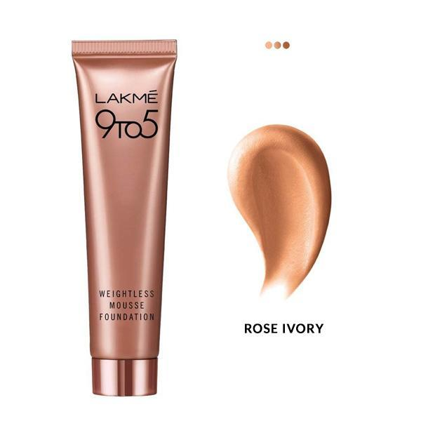 MakeUp - Weightless Mousse Foundation - Rose Ivory