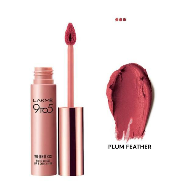 MakeUp - Weightless Mousse Lip & Cheek Color - Plum Feather