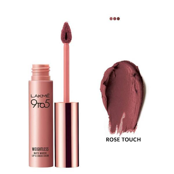 MakeUp - Weightless Mousse Lip & Cheek Color - Rose Touch