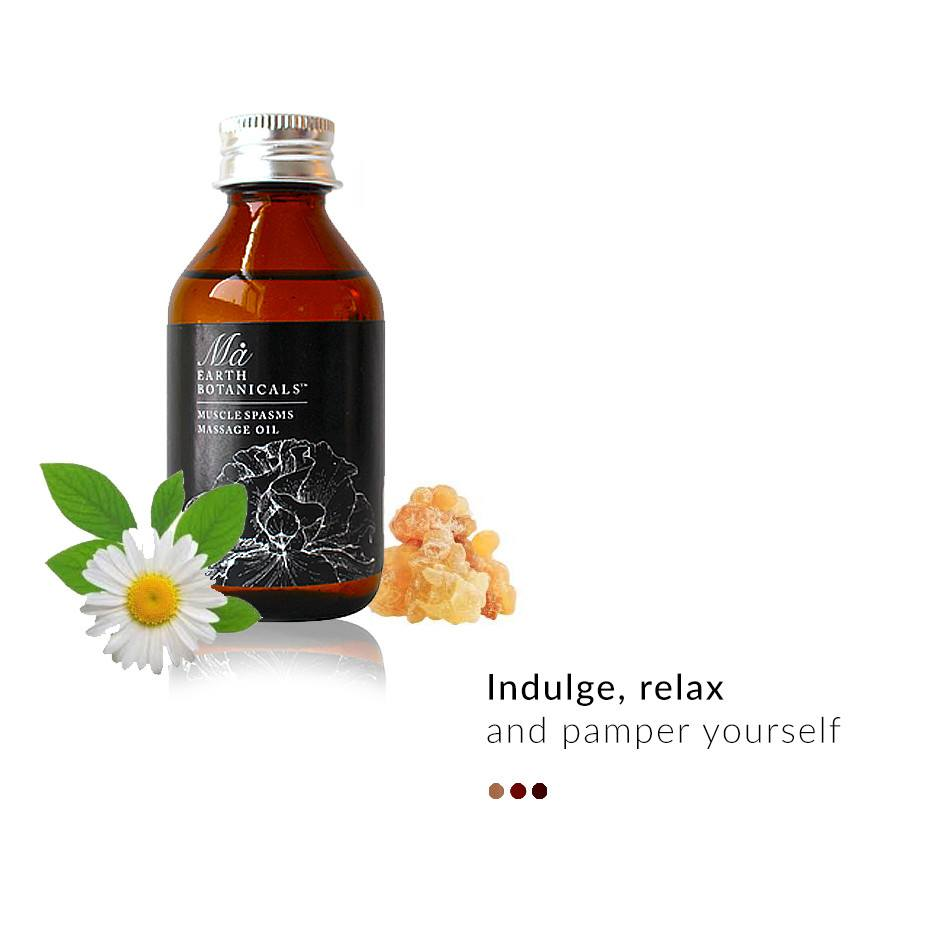 Relaxing Massage oil on Smytten | Massage oil | Ma Earth Botanicals